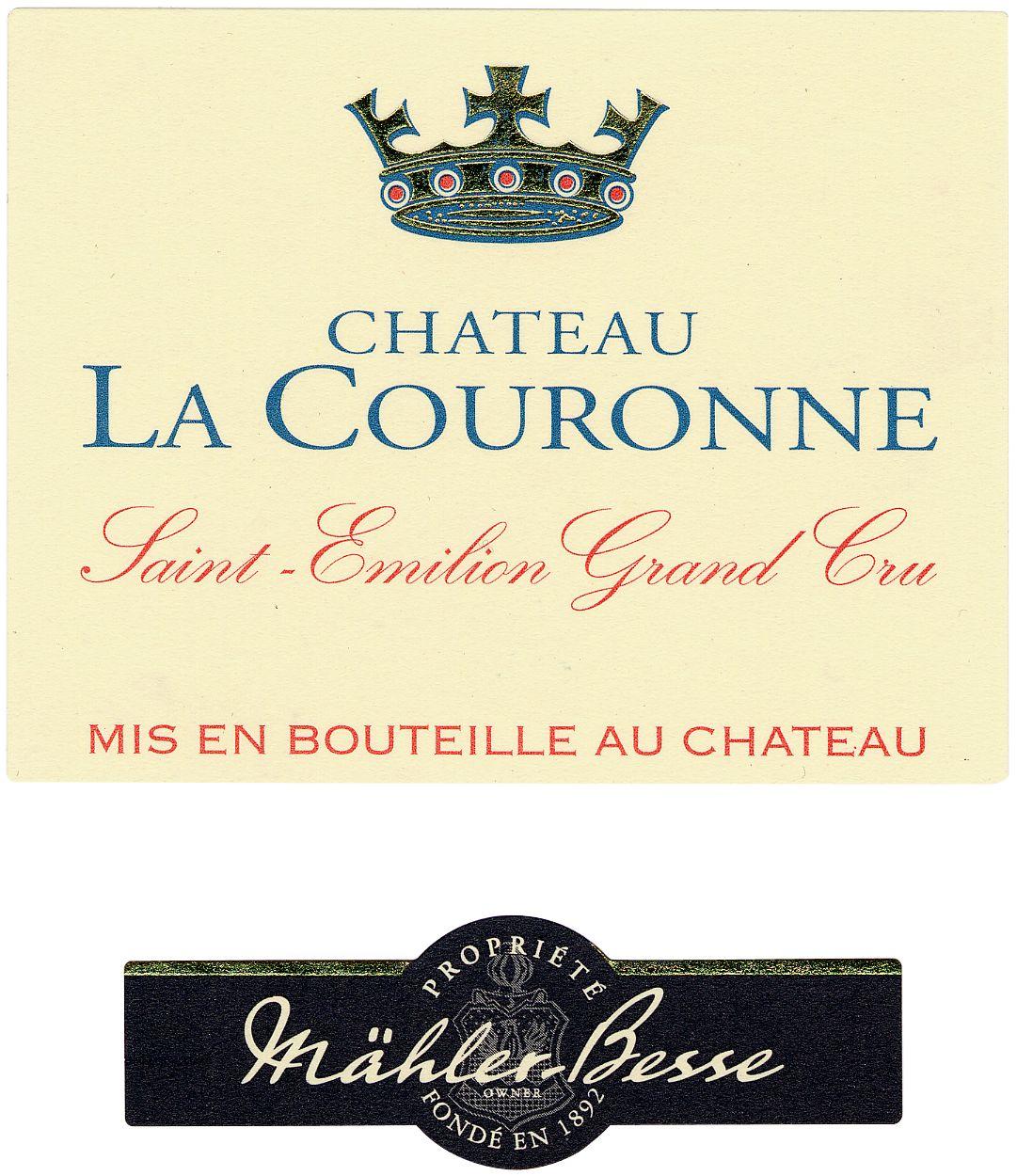 Chateau La Couronne