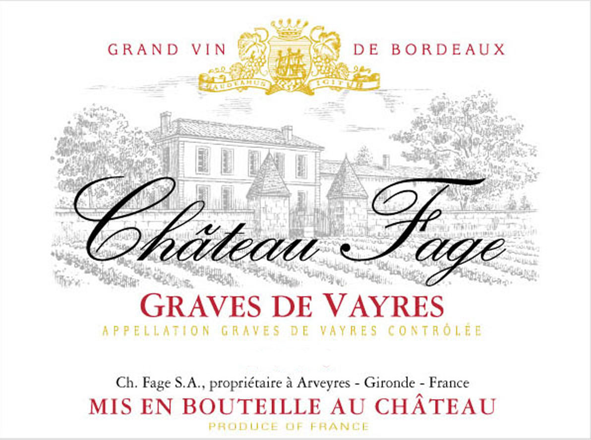 Chateau Fage - Red