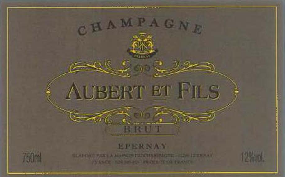Aubert et Fils Brut label