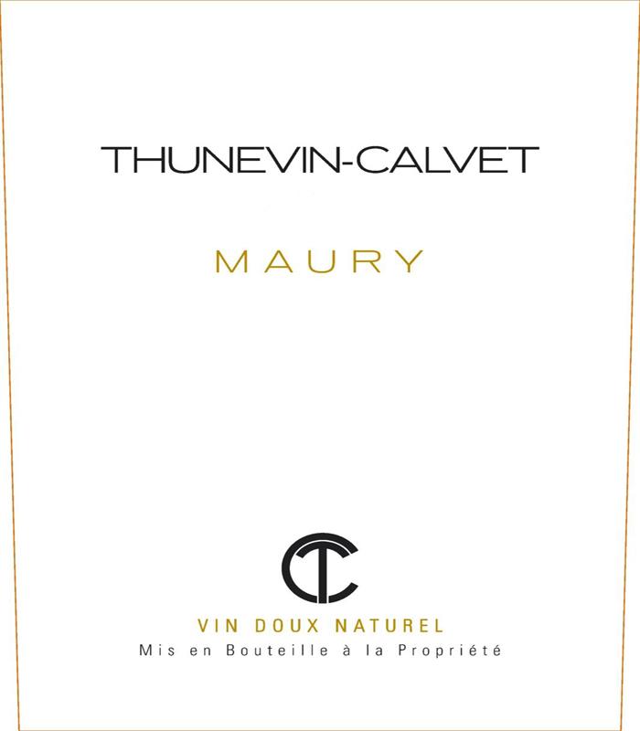 Thunevin-Calvet Maury label