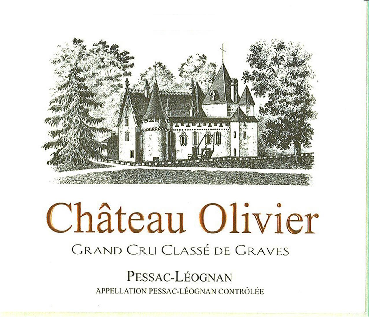 France bordeaux graves pessac leognan chateau for Chateau olivier