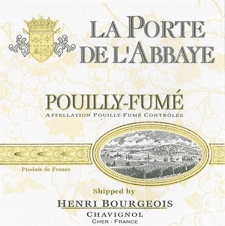 Henri Bourgeois - La Porte De L'Abbaye Pouilly-Fume