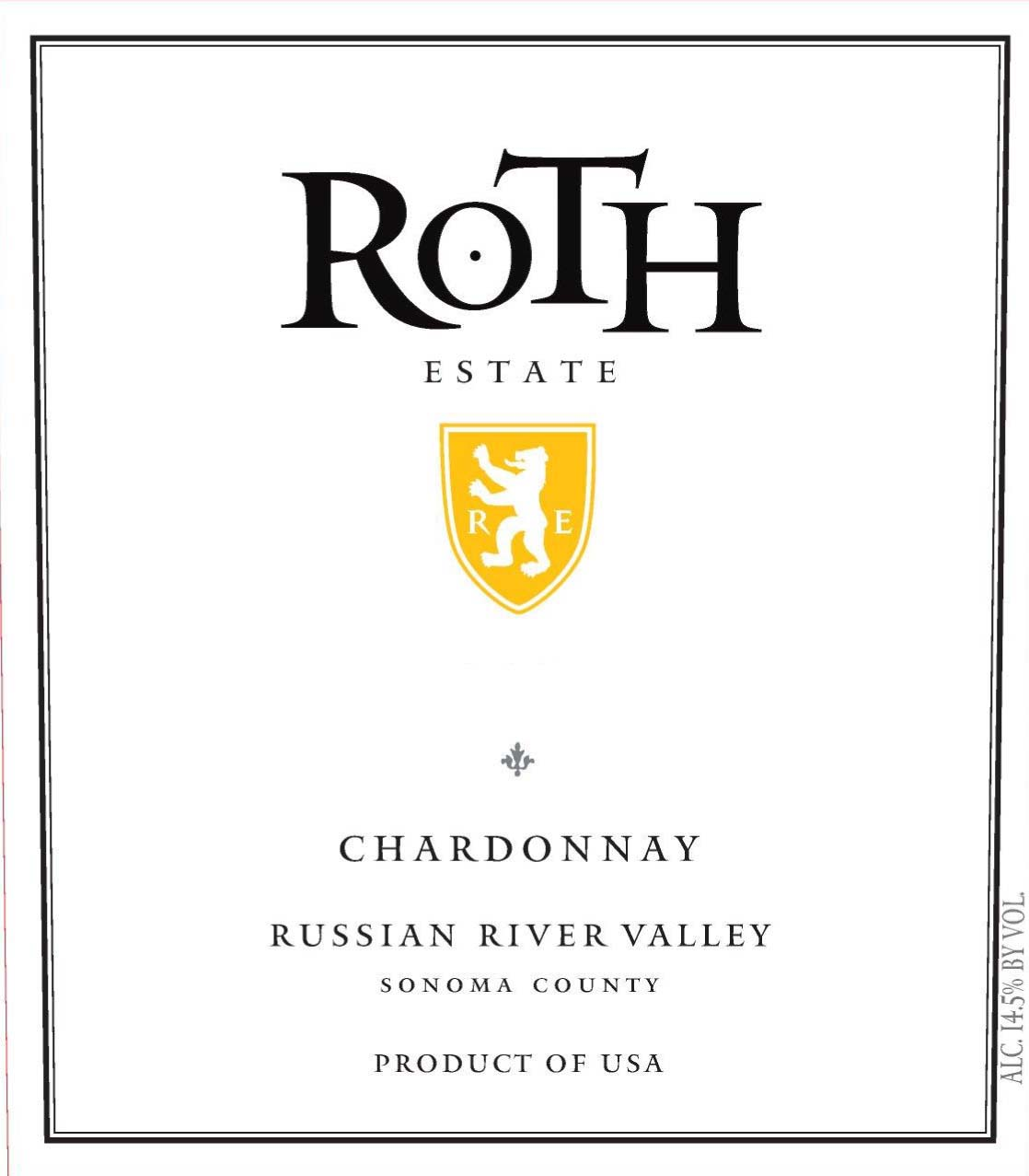 Roth Estate - Chardonnay - Russian River Valley