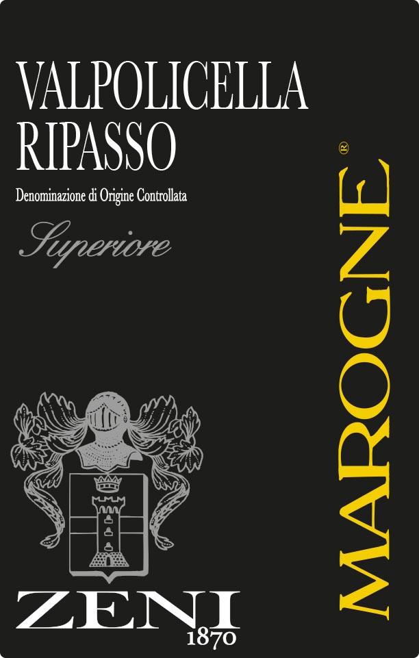 Zeni - Marogne Ripasso - Superiore
