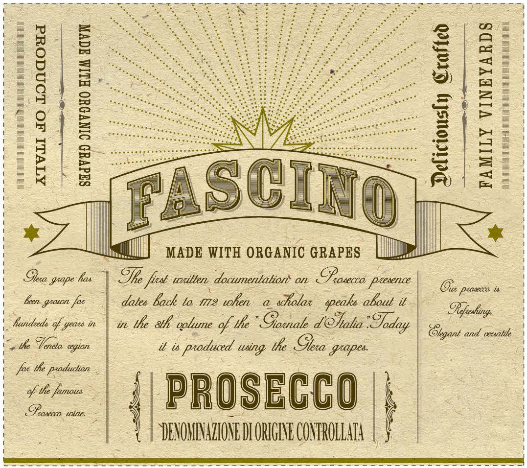 Fascino - Prosecco Organic