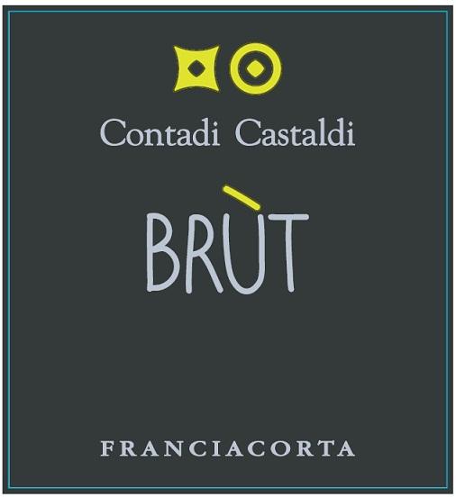 Contadi Castaldi - Brut Franciacorta label