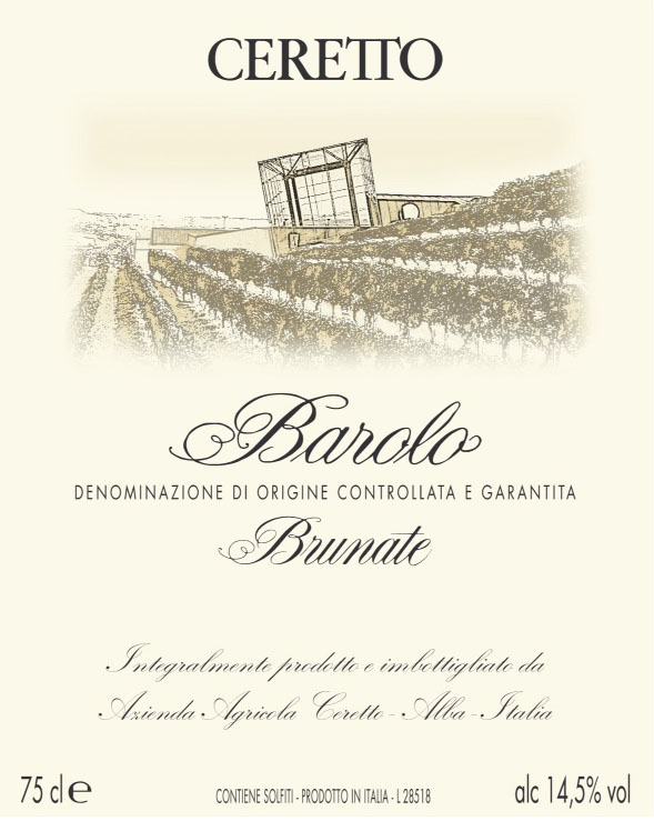 Ceretto - Barolo - Brunate