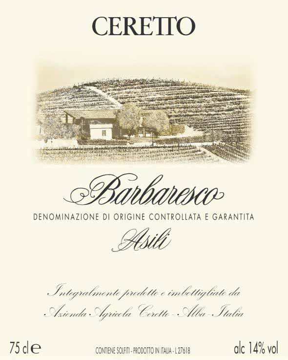 Ceretto - Barbaresco - Asili