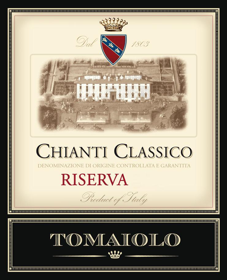 Tomaiolo - Chianti Classico Riserva label