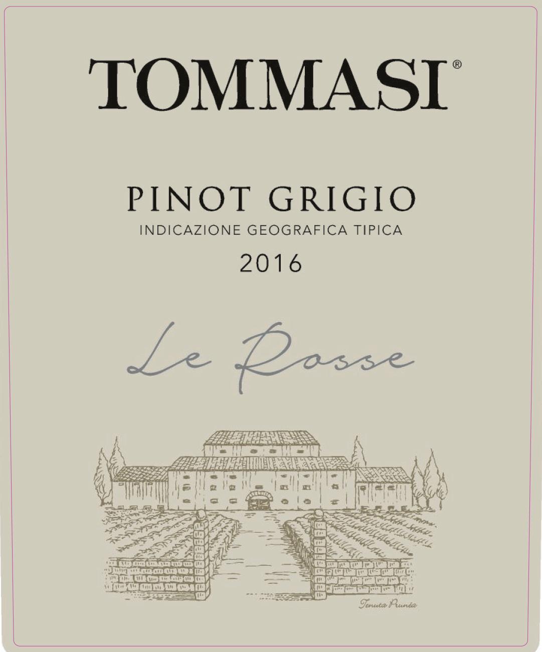 Tommasi - Le Rosse - Pinot Grigio