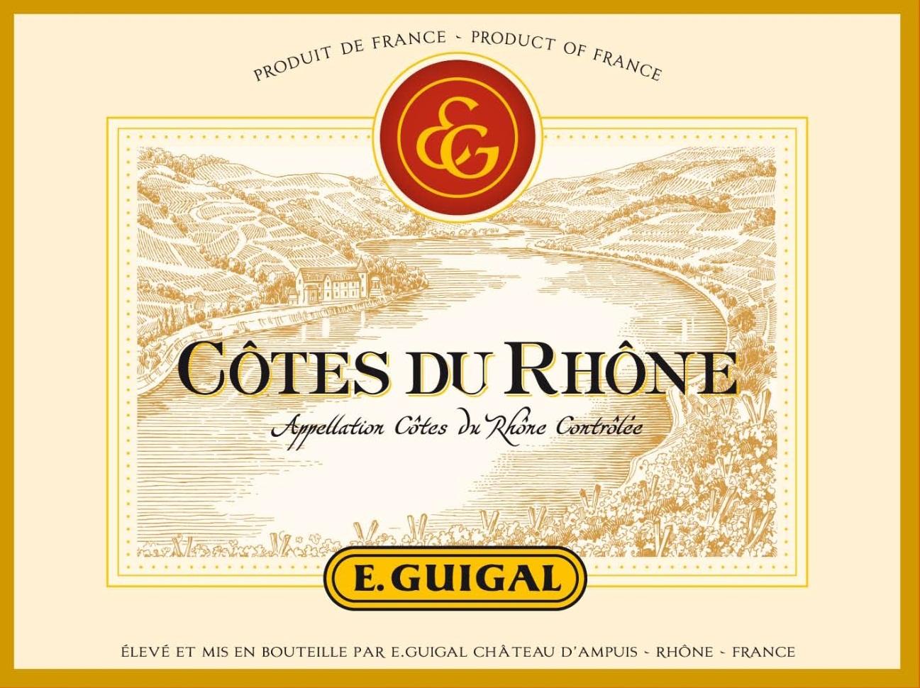 E. Guigal -Cotes du Rhone Rouge
