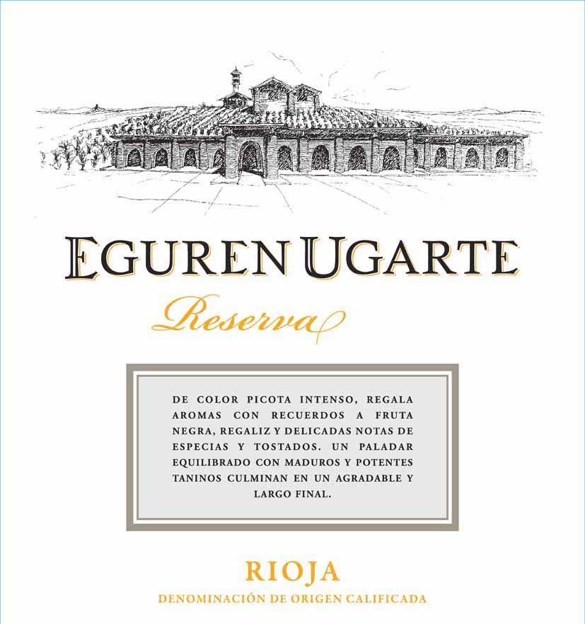Eguren Ugarte - Reserva label