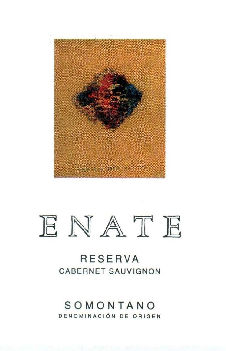 Enate - Cabernet Sauvignon - Reserva label