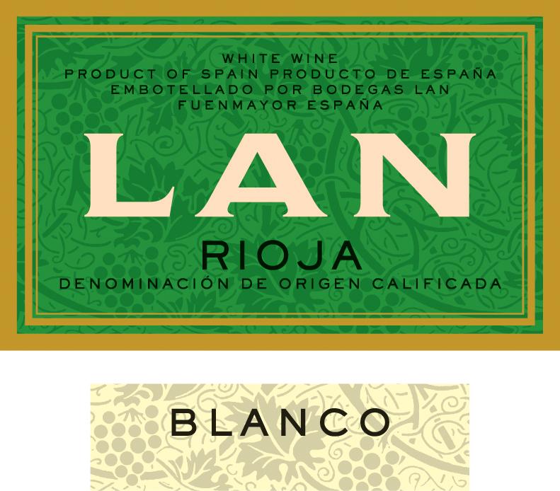 Bodegas LAN - Rioja - Blanco label
