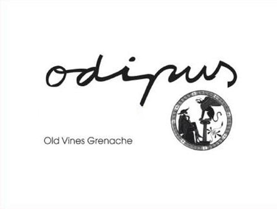 Odipus - Old Vines Grenache label