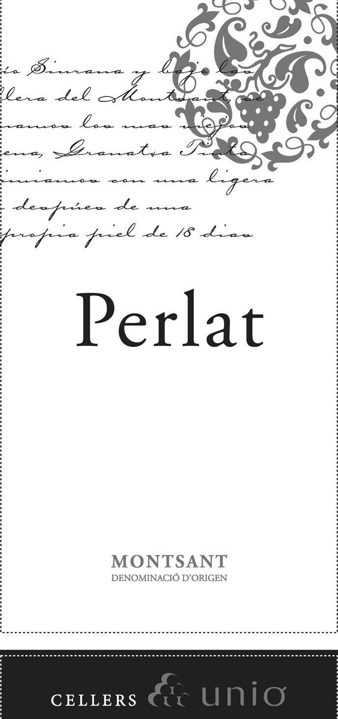 Perlat - Montsant label