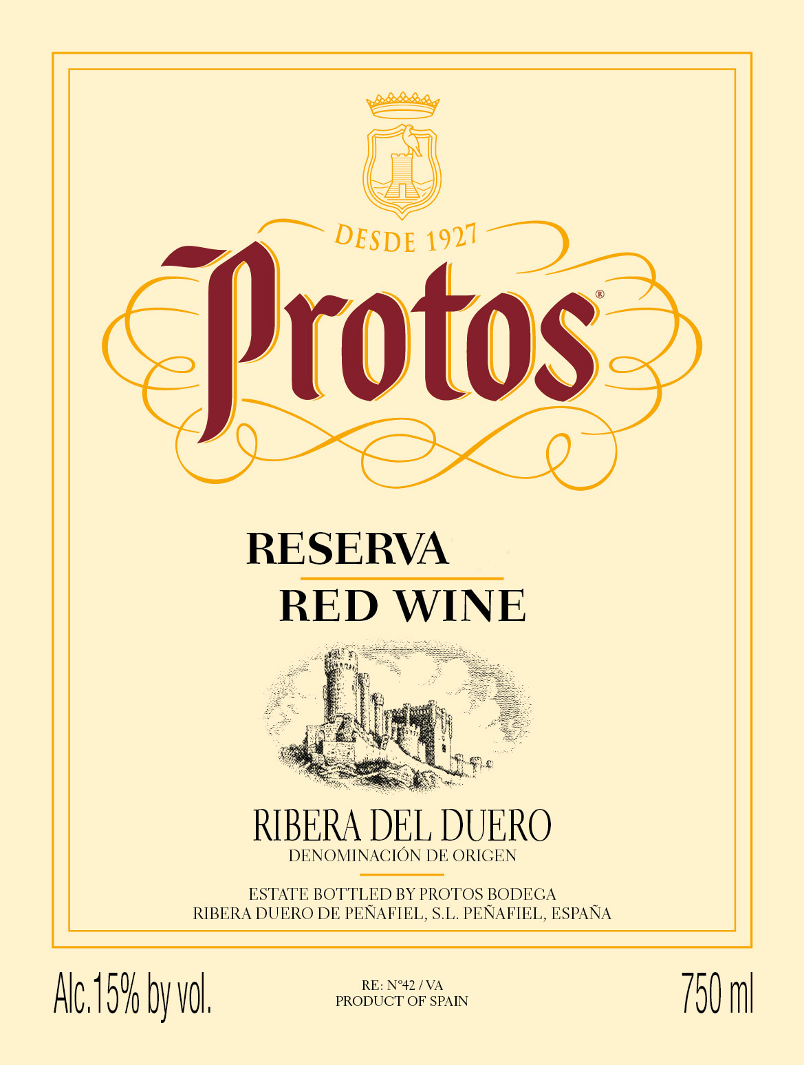 Protos - Reserva label
