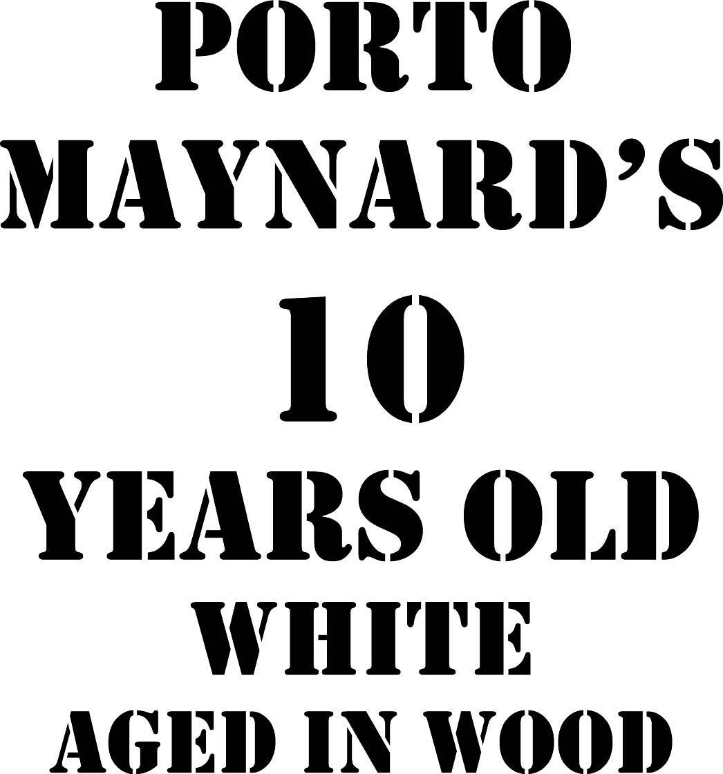 Maynard's 10 Years Old White Port label
