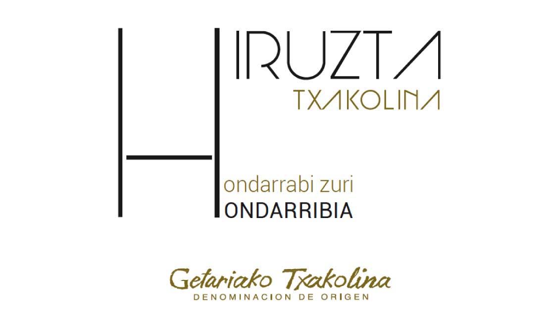Hiruzta - Hondarrabi Zuri label