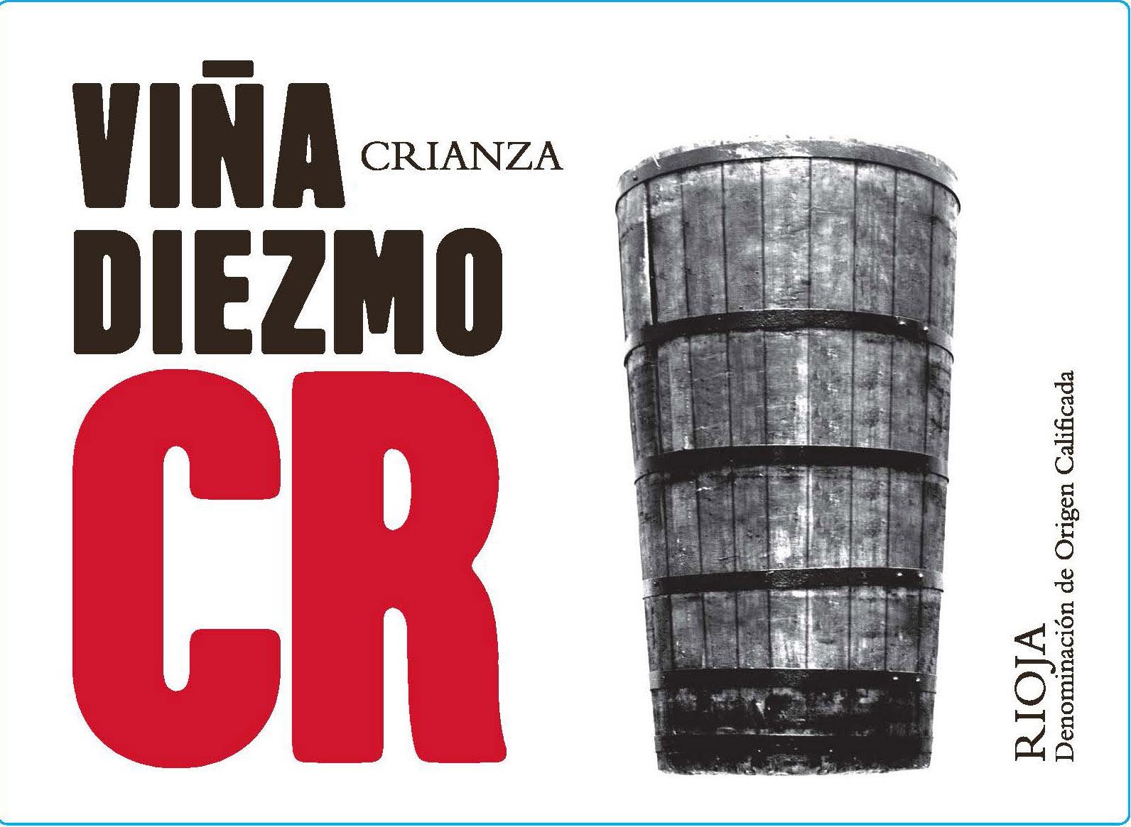 Viña Diezmo - Crianza label