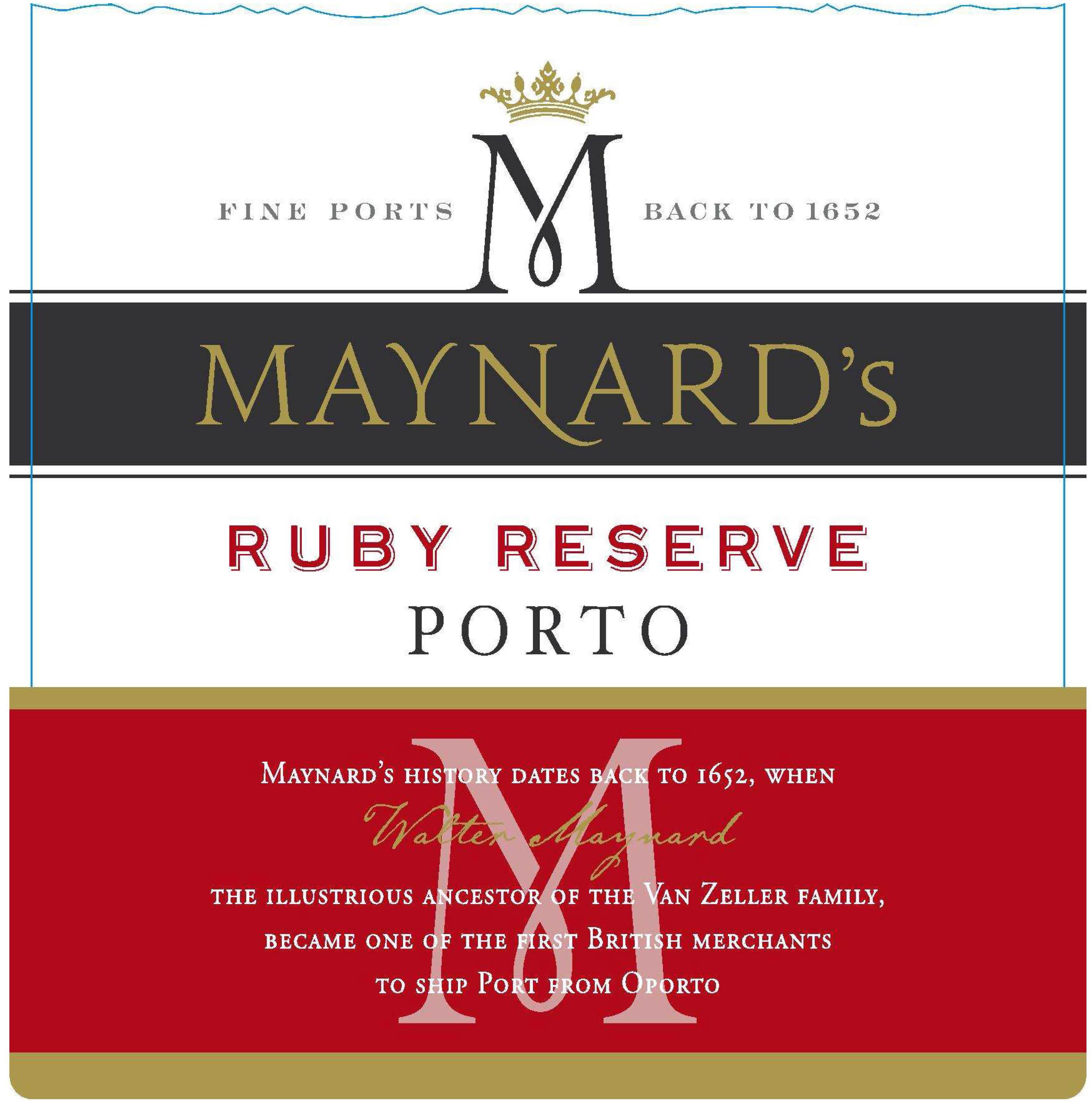 Maynard's - Reserve Ruby Porto