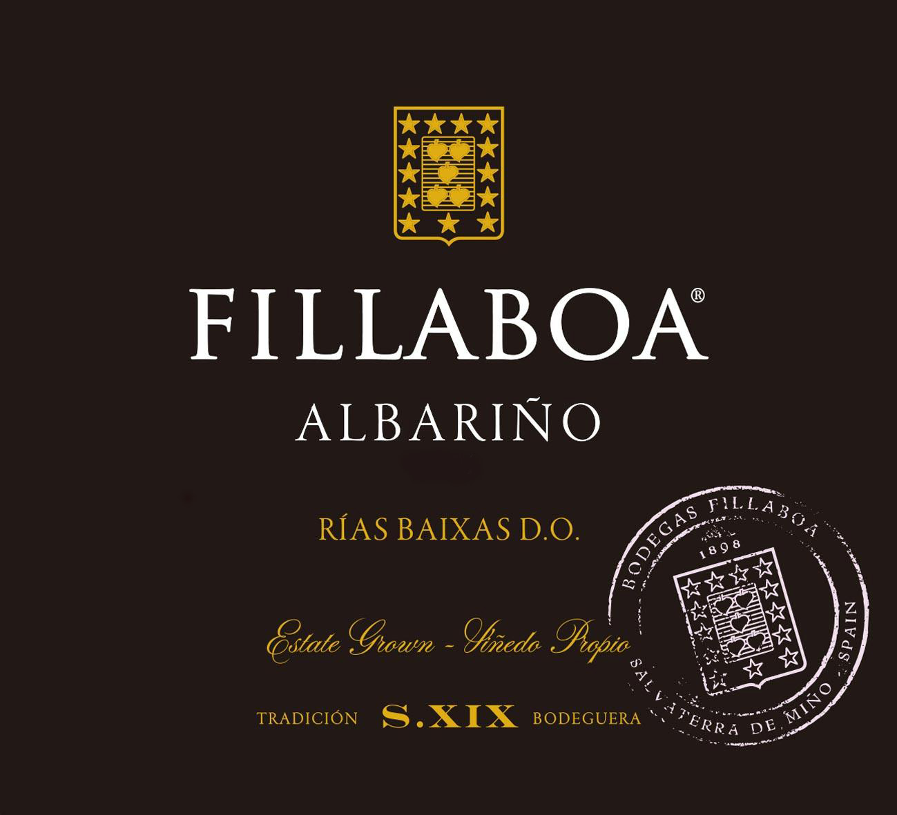 Fillaboa - Albarino label