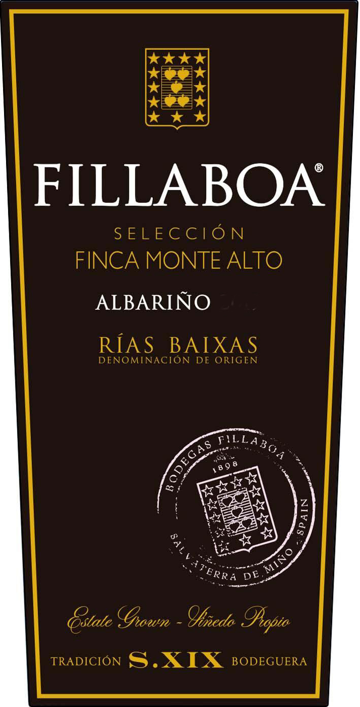 Fillaboa - Albarino Seleccion (Finca Monte Alto) label