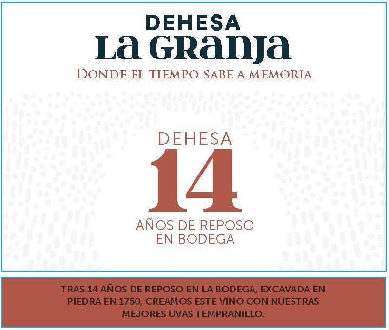 Dehesa la Granja - Dehesa 14 label