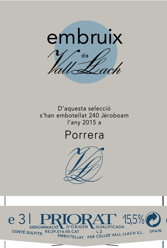 Vall Llach - Embruix label