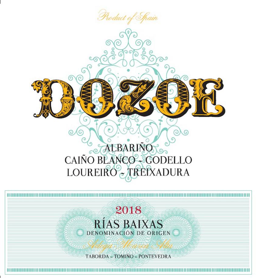 Dozoe - Albarino label