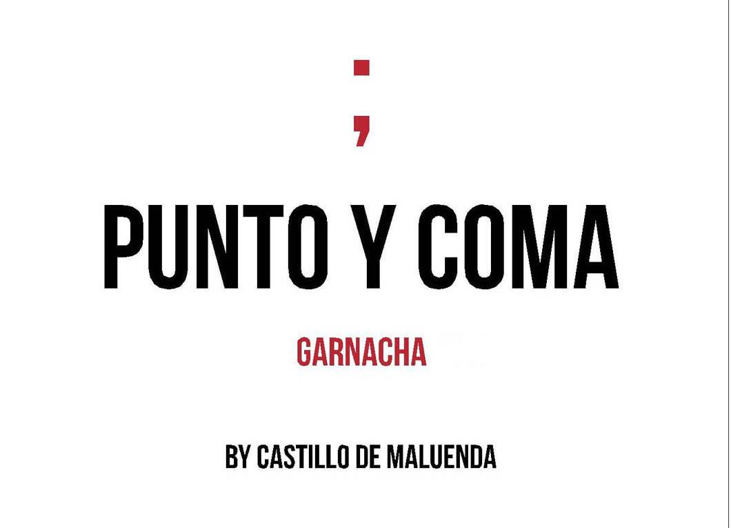 Castillo de Maluenda - Punto Y Coma - Old Vines label