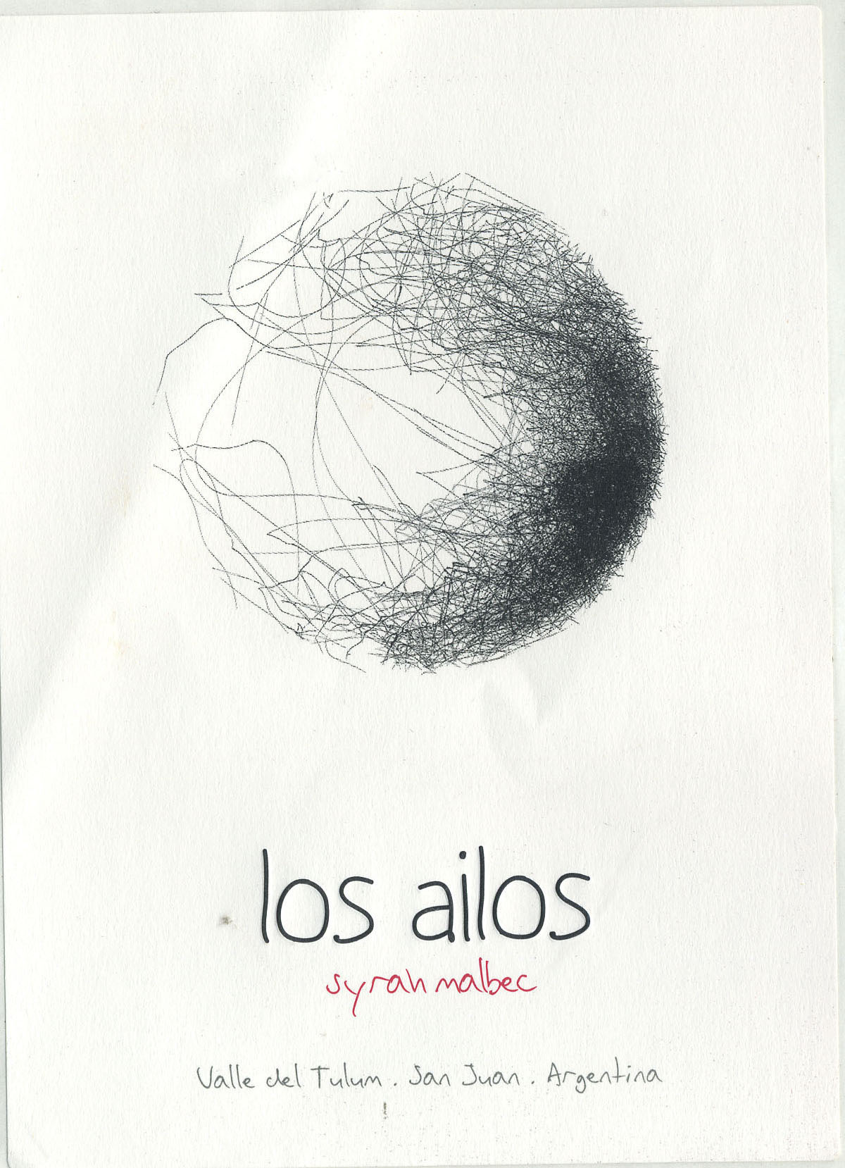 Los Ailos - Syrah Malbec