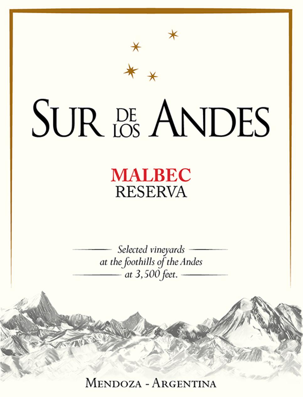 Sur de Los Andes - Malbec Reserva