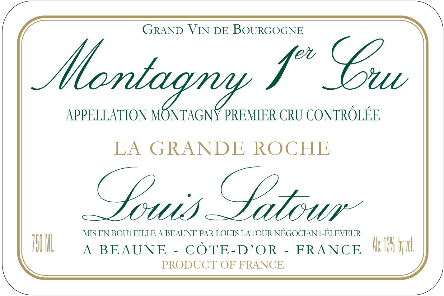 Louis Latour - Montagny La Grande Roche