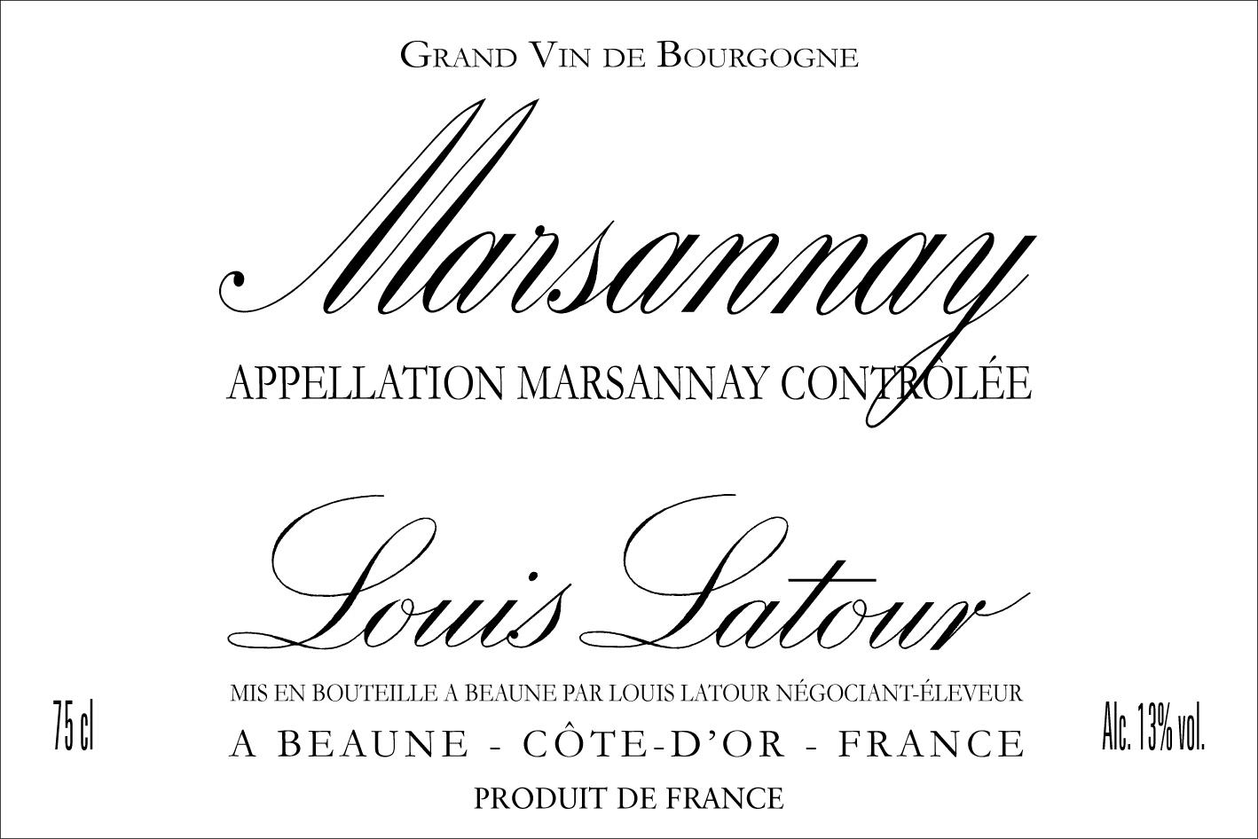 Louis Latour - Marsannay