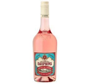 Les Dauphins - Cuvee Speciale - Rose bottle