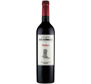 Guillermo de Mendoza - Malbec bottle