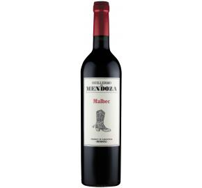 Guillermo de Mendoza - Malbec bottle