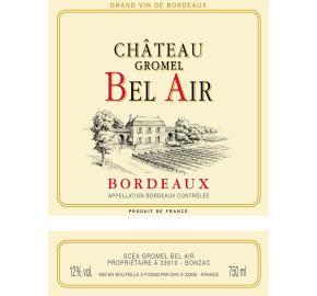 Chateau Gromel Bel Air