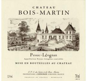 Chateau Bois-Martin (from Chateau Carbonnieux)