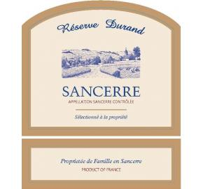 Reserve Durand - Sancerre label