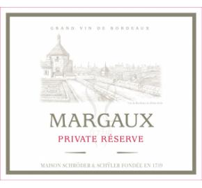 Private Reserve Margaux label