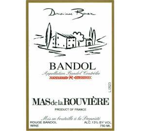 Domaines Bunan - Mas de la Rouviere - Bandol - Red