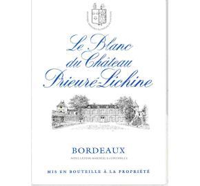 Le Blanc du Chateau Prieure Lichine (a Touton Exclusive)