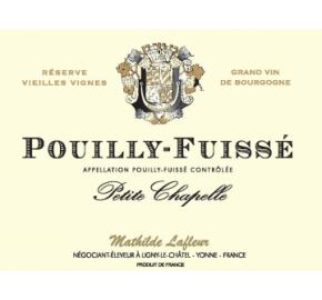 Petite Chapelle - Pouilly Fuisse label