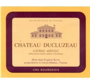 Chateau Ducluzeau label