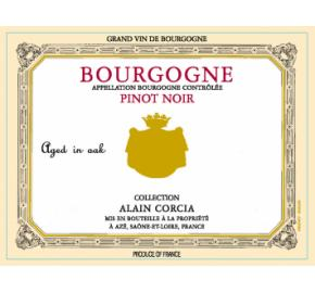 Collection Alain Corcia - Bourgogne - Pinot Noir