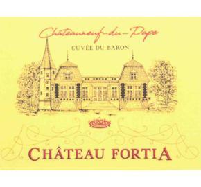 Chateau Fortia - Chateauneuf-du-Pape - Cuvee du Baron