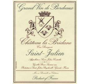 Chateau La Bridane label
