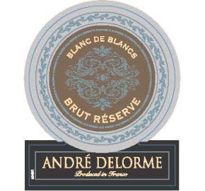 Andre Delorme - Blanc de Blancs - Brut Reserve label